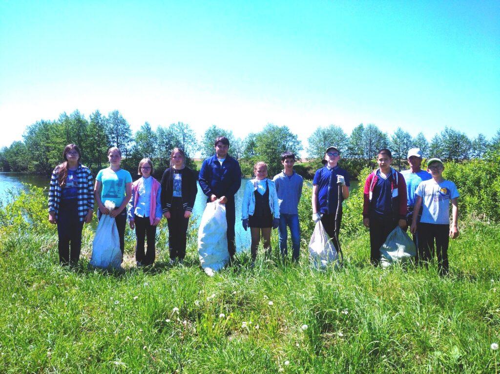 экологическая акция «Чистый берег»