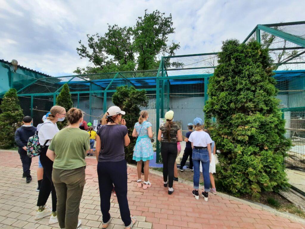 посещение Зоологического парка